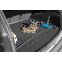 Гумена стелка за багажник Frogum за Kia Cee'd комби след 2018 година със странични джобове, без субуфер