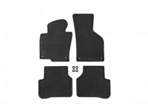 Гумени стелки Geyer & Hosaja за VW Passat B6 2005-2010/ Passat B7 2010-2014/ Passat CC 2008-2011 4 части черни