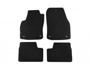 Мокетени стелки Petex за Opel Astra H 2004-10/2011 4 части черни (B034) Rex материя
