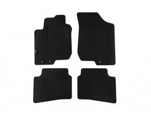 Мокетени стелки Petex за Hyundai i30 2009-2012 4 части черни (B013) Rex материя