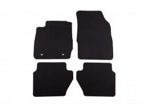 Мокетени стелки Petex за Ford Fiesta 9/2008-1/2011 4 части черни (B022U) Rex материя