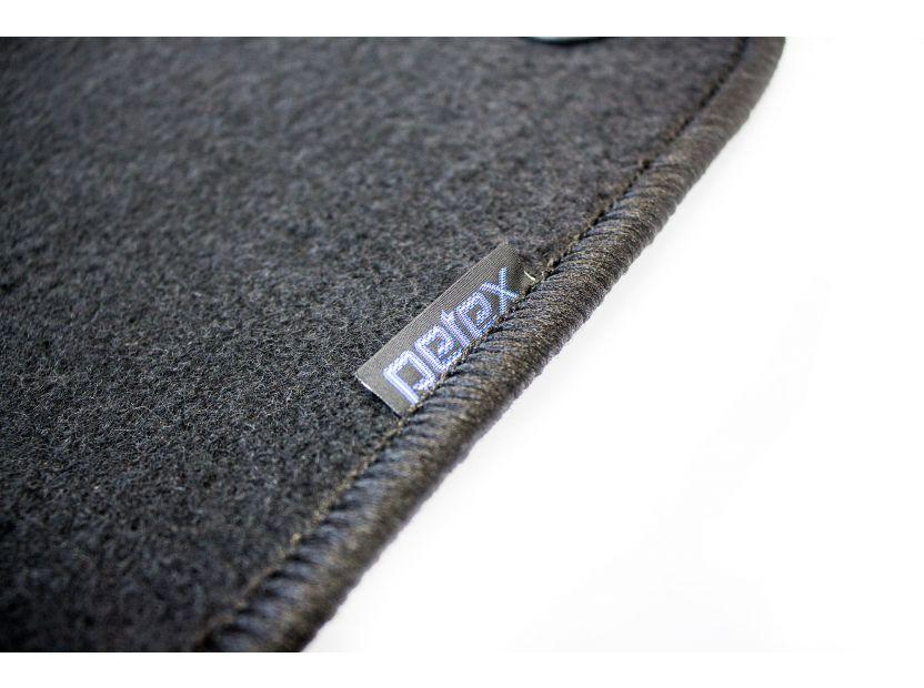 Мокетени стелки Petex за Hyundai i30 2009-2012 4 части черни (B013) Rex материя - 3