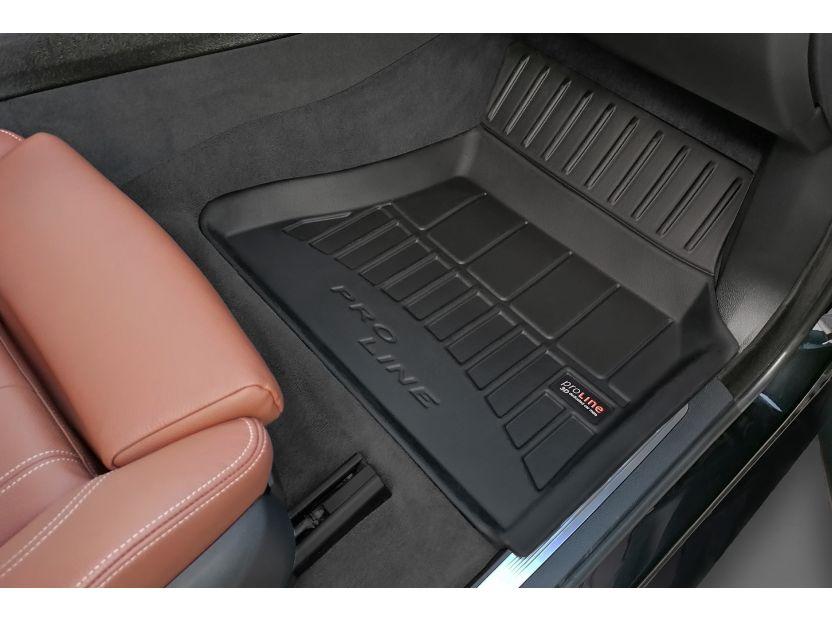3D гумени стелки Frogum за BMW X5 F15 2013-2018, 4 части, черни - 4