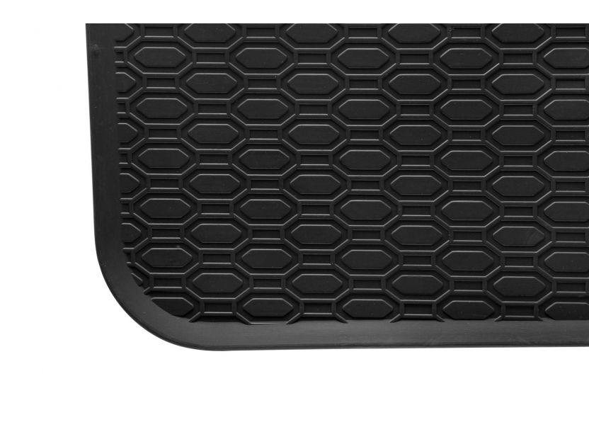 Гумени стелки Geyer & Hosaja за VW Touran III след 2015 година 3 части черни - 3