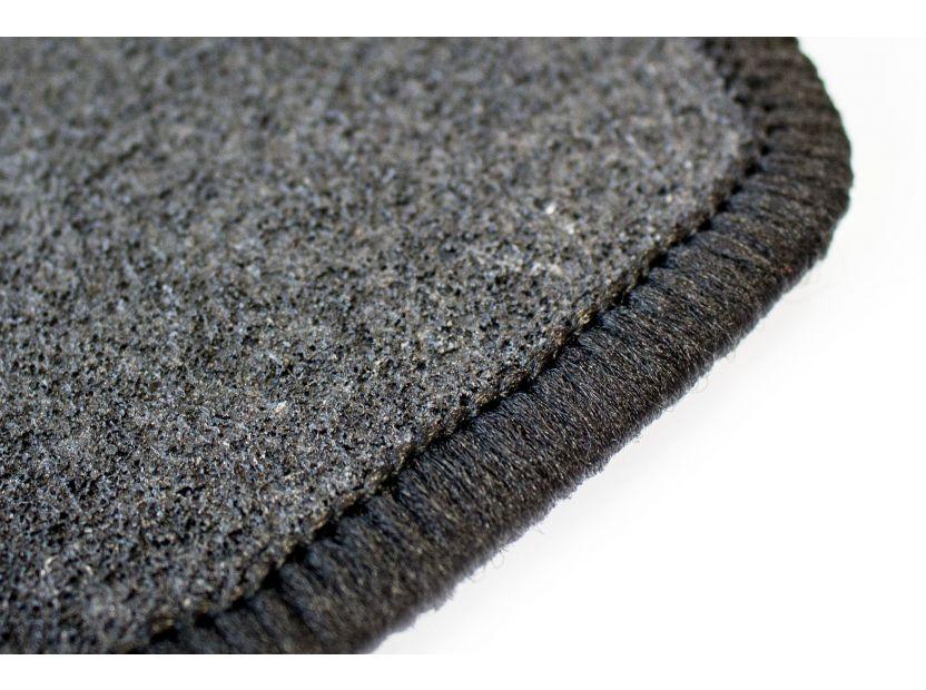 Мокетени стелки Petex за Hyundai i30 2009-2012 4 части черни (B013) Rex материя - 2