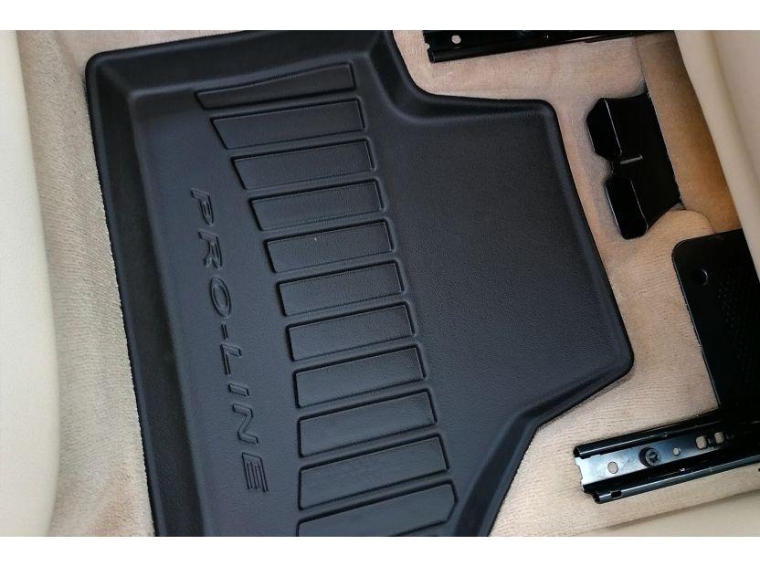 3D гумени стелки Frogum за BMW X3 F25 2010-2017, 4 части, черни - 5