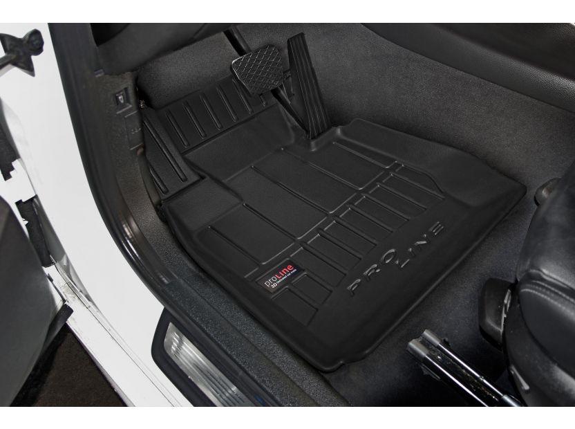 3D гумени стелки Frogum за BMW X3 F25 2010-2017, 4 части, черни - 2