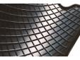 Гумени стелки Petex съвместими с Audi Q3 2011-2018, 4 части, черни, захват B014 7