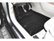 3D гумени стелки Frogum за Audi A6 2011-2017, 4 части, черни 2
