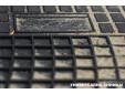 Гумени стелки Frogum съвместими с Toyota Yaris 2011-2019, 4 части, черни 4