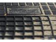 Гумени стелки Frogum за Skoda Fabia след 2014 година с 2 места, 2 части черни 3