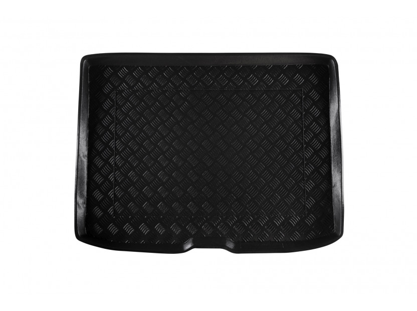 Rezaw-Plast Polyethylene Trunk Mat for Audi A3 hatchback 3 doors after 2012 /Audi A3 Sportback with a standard spare tire after 2012