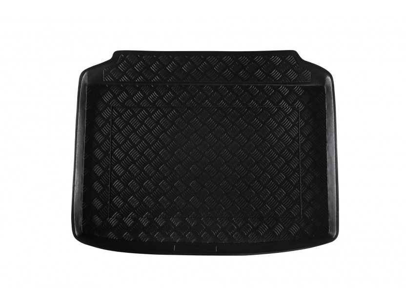 Rezaw-Plast Polyethylene Trunk Mat for Audi A3 hatchback 3 doors after 2012 /Audi A3 Sportback with a small spare tire after 2012