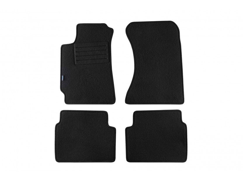 Petex Carpet Mats for Subaru Forester 09/2002-2006 4 pieces Black Rex fabic