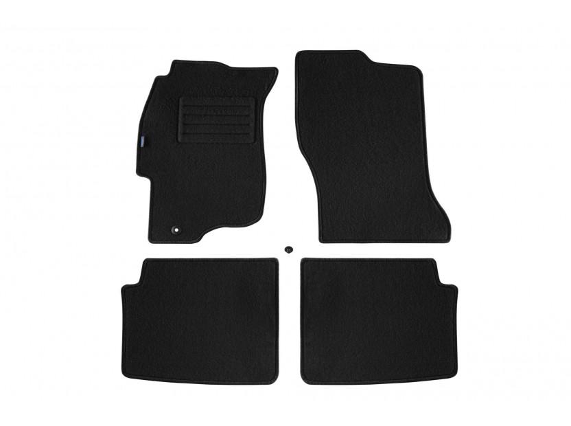 Petex Carpet Mats for Honda Civic 5 doors 01/1995-02/2001 4 pieces Black (B001) Rex fabic