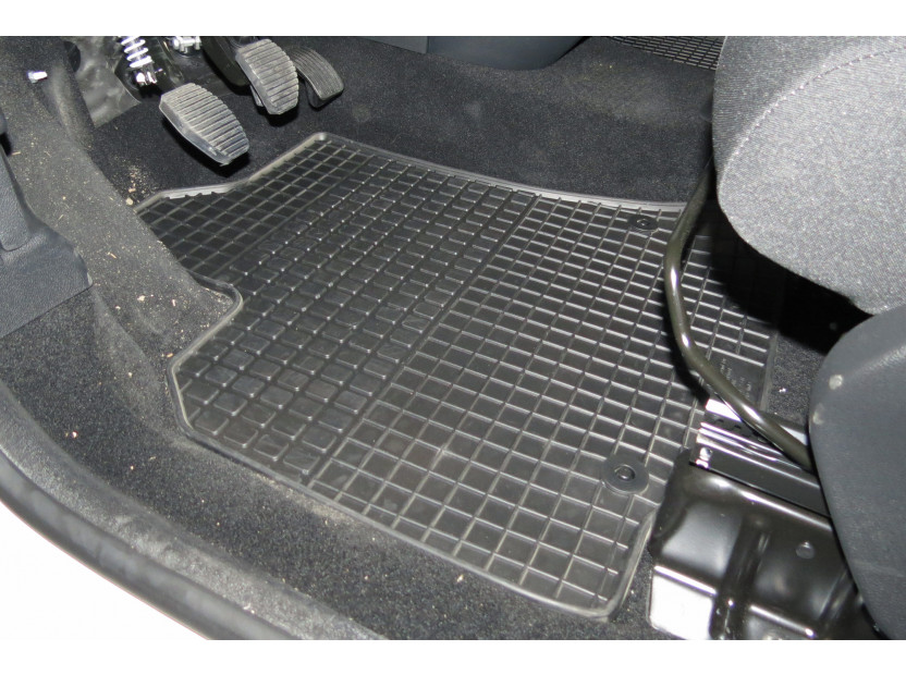 Petex All-Weather Mats for Citroen Berlingo 06/2008 => Front 2 pieces Black (B042) 4