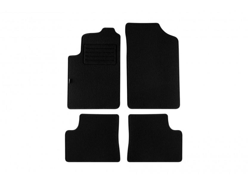 Petex Carpet Mats for Citroen Xsara 2000-2006 4 pieces Black Rex fabic