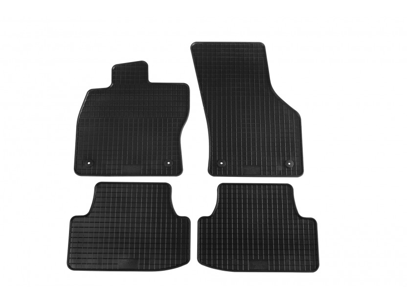 Petex All-Weather Mats for Audi A3 3 doors 09/2012 =>/A3 Cabrio 03/2013 => 4 pieces Black (B014)