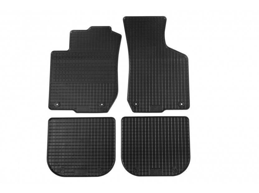 Petex All-Weather Mats for Audi A3 1996-04/2003 4 pieces Black (B014)
