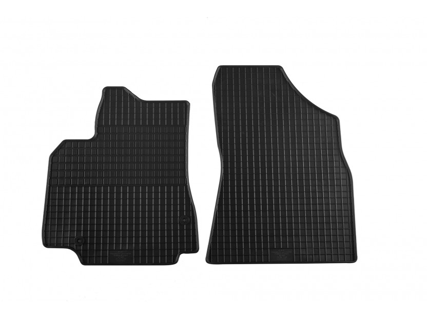 Petex All-Weather Mats for Citroen Berlingo 06/2008 => Front 2 pieces Black (B042)