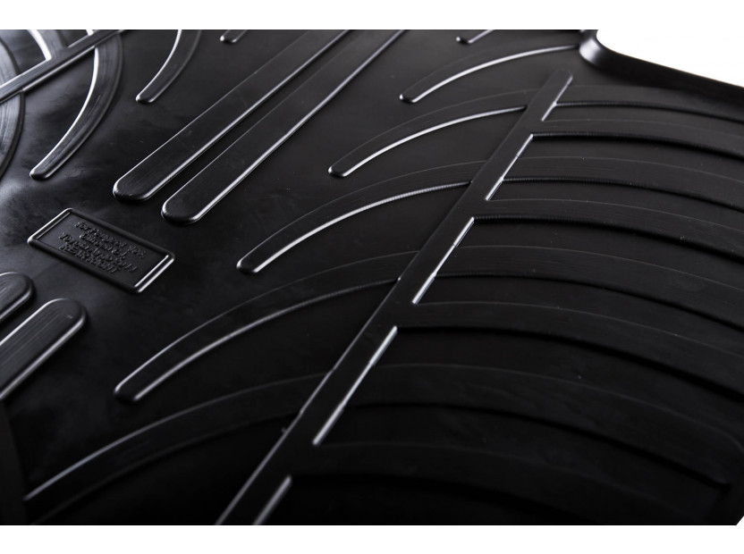 GledRing All-Weather Mats for Toyota Aygo after 2014 4 pieces Black 2