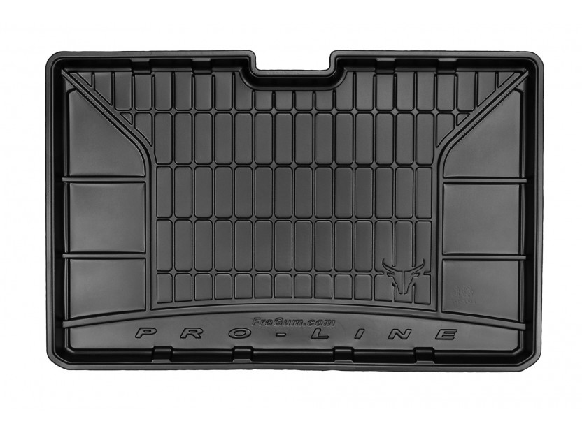 Frogum Rubber Trunk Mat for Renault Captur after 2013 year in bottom floor of the trunk