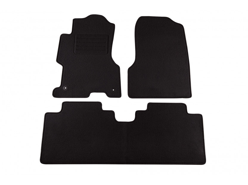 Petex Carpet Mats for Honda Civic 5 doors 10/2003-12/2005 3 pieces Black (B012U) Rex fabic