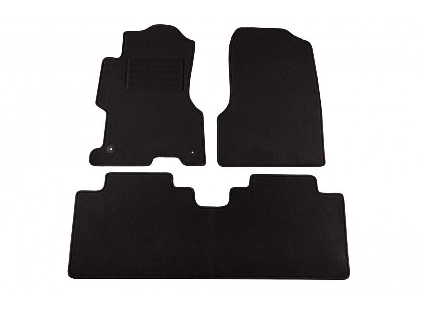 Petex Carpet Mats for Honda Civic 5 doors 10/2003-12/2005 3 pieces Black (B012U) Rex fabic