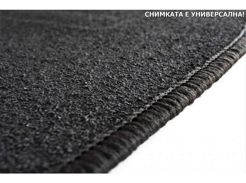 Petex Carpet Mats for Nissan P12 hatchback/traveler 03/2002-2007 4 pieces Black (B011U) Rex fabric 2