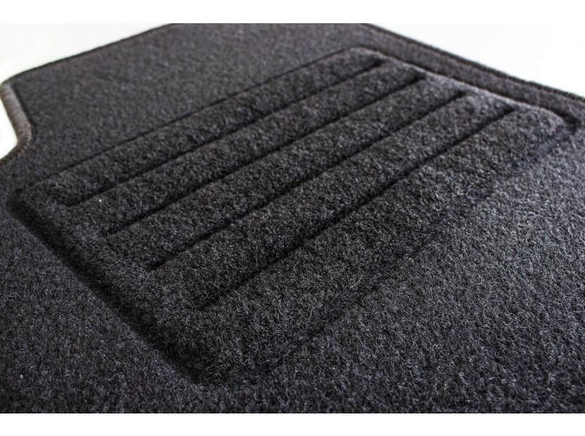 Petex Carpet Mats for Alfa Romeo GT 03/2004-03/2010 4 pieces Black (B001) Rex fabric 3