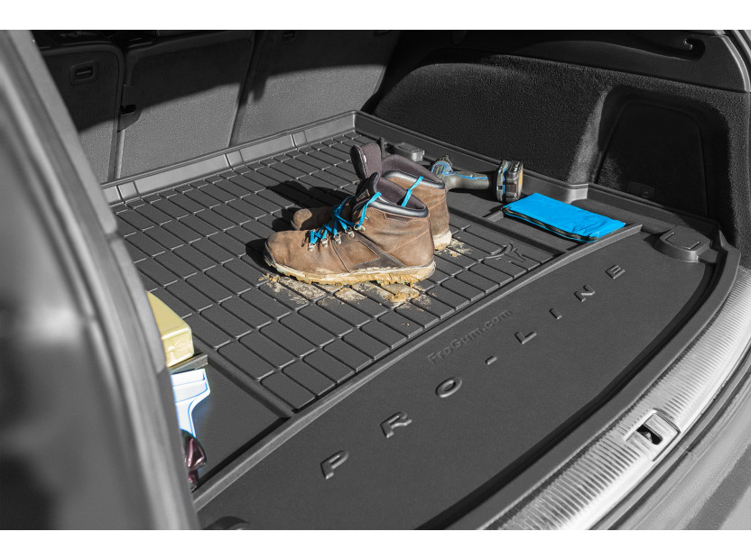 Frogum Rubber Trunk Mat for Renault Captur after 2013 year in bottom floor of the trunk 2