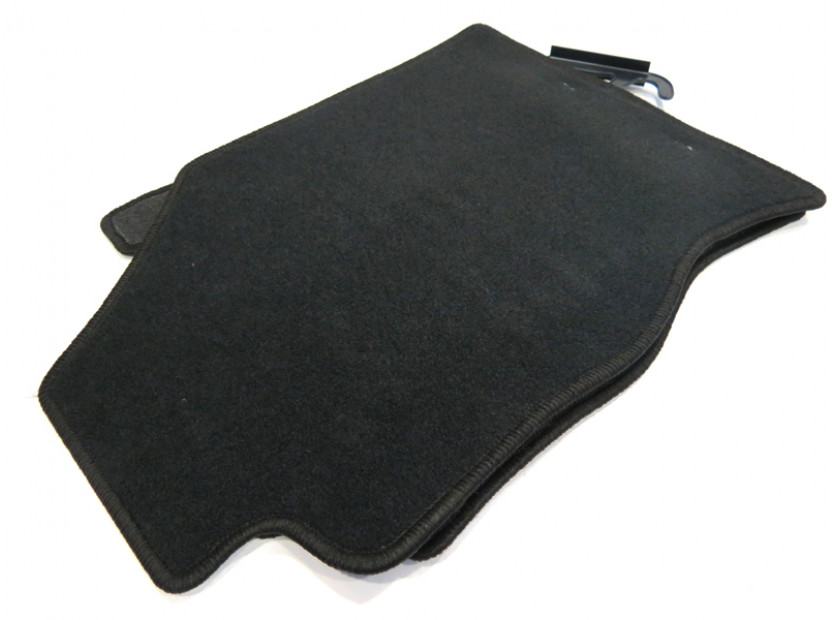 Petex Carpet Mats for Ford Focus 1998-09/2001 4 pieces Black (KL01) Rex fabric 9