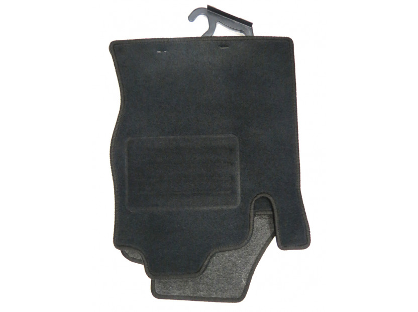 Petex Carpet Mats for Ford Focus 1998-09/2001 4 pieces Black (KL01) Rex fabric 5