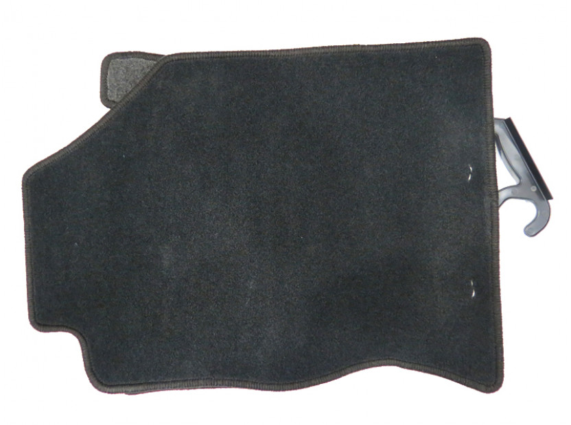 Petex Carpet Mats for Ford Focus 1998-09/2001 4 pieces Black (KL01) Rex fabric 6