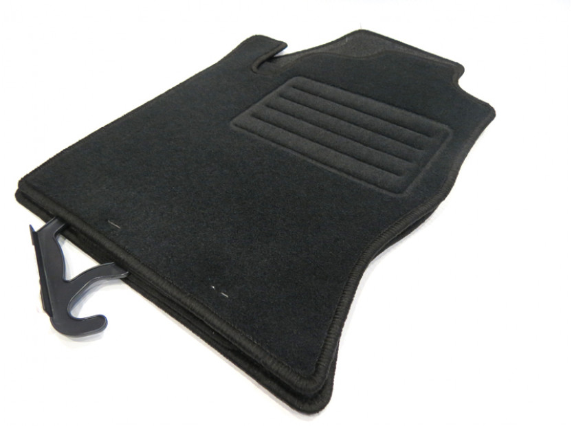 Petex Carpet Mats for Ford Focus 1998-09/2001 4 pieces Black (KL01) Rex fabric 10