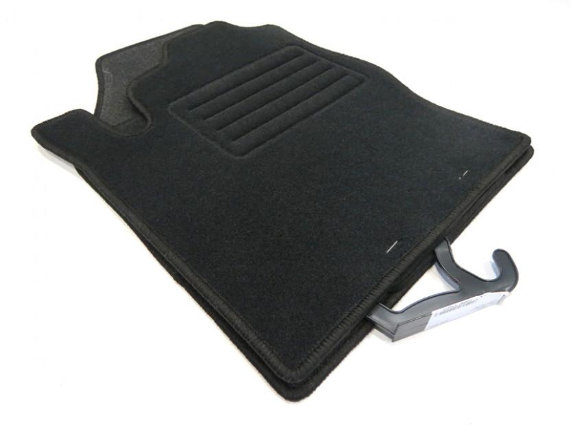 Petex Carpet Mats for Ford Focus 1998-09/2001 4 pieces Black (KL01) Rex fabric 3