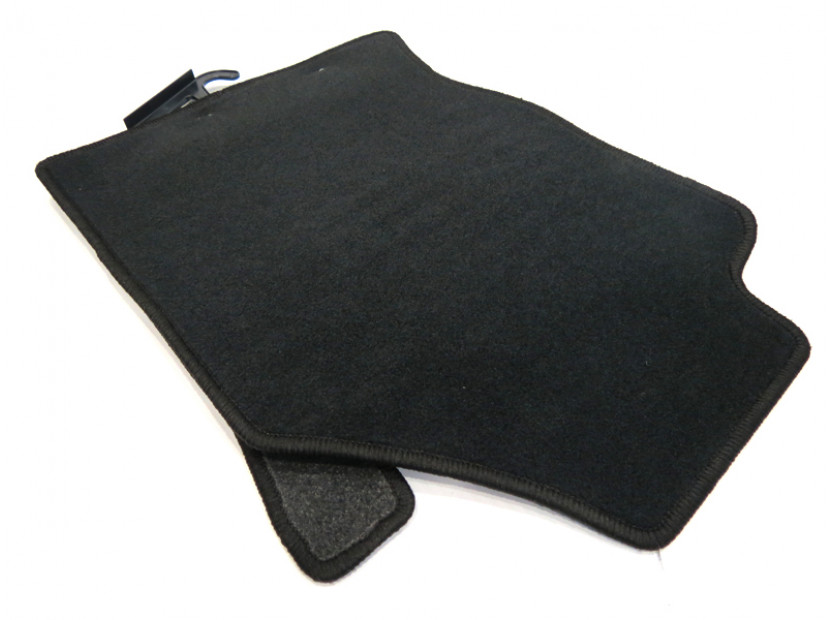 Petex Carpet Mats for Ford Focus 1998-09/2001 4 pieces Black (KL01) Rex fabric 7