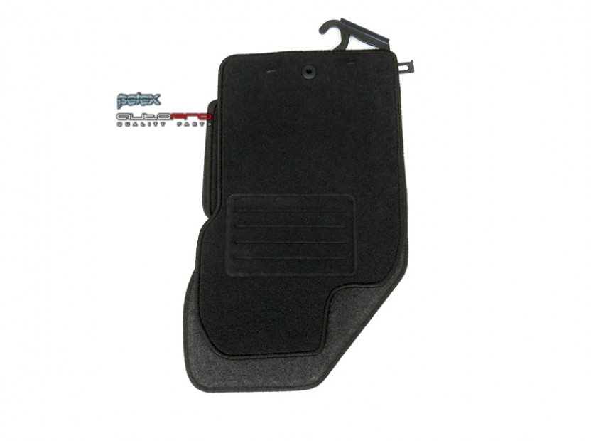 Petex Carpet Mats for Alfa Romeo GT 03/2004-03/2010 4 pieces Black (B001) Rex fabric 2