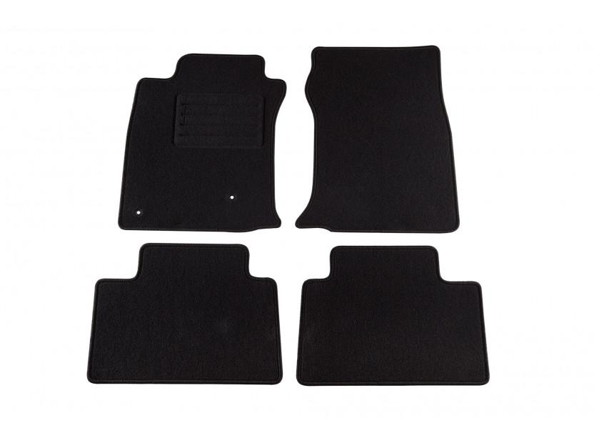 Petex Carpet Mats for Toyota Land Cruiser 3 doors 2003-07/2009 4 pieces Black (B162) Rex fabic