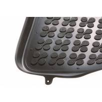 Гумени стелки Rezaw-Plast за Fiat Doblo след 2010 година, 3 места, 2 части, черни