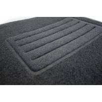 Мокетени стелки Petex за Audi A6 седан, комби, allroad 2011-2018, A7 2010-2018 4 части черни B01E8 Rex материя