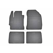 Гумени стелки Frogum съвместими с Toyota Prius SW50 след 2015 година, 4 части, черни