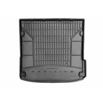 Frogum Rubber Trunk Mat for Audi Q7 5/7 seats 2006-2015in bottom floor of the third row seats