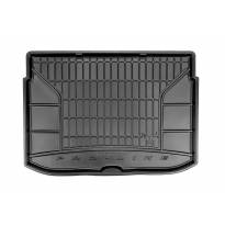Frogum Rubber Trunk Mat for Citroen C3 Picasso after 2009 year in bottom floor of the trunk