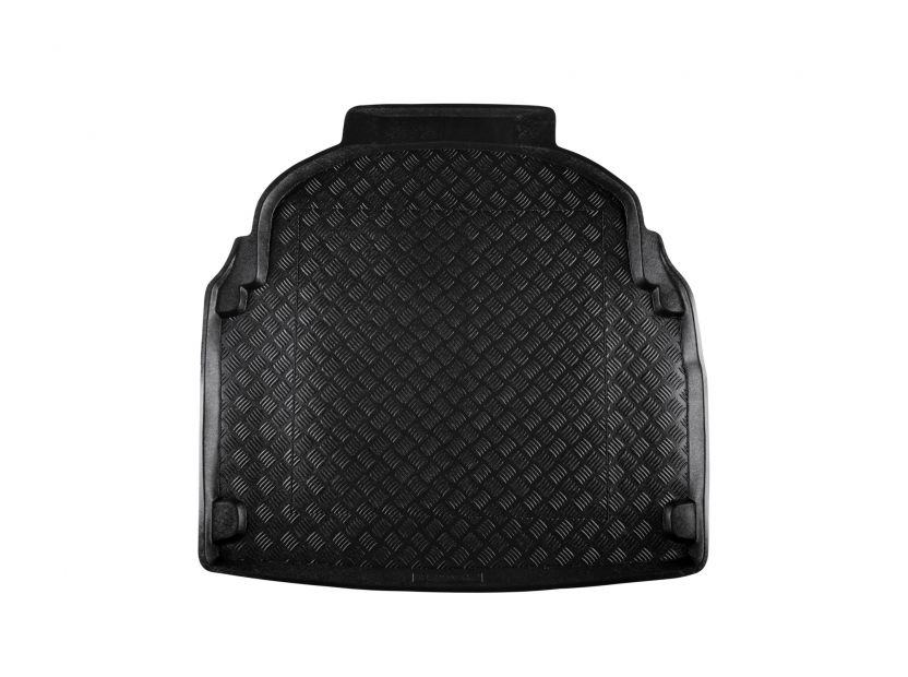 Rezaw-Plast Polyethylene Trunk Mat for Mercedes E class W212 sedan after 2009 with plastic cover behind the rear seats - 1
