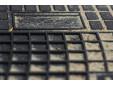 Гумени стелки Frogum съвместими с Volvo S60 2000-2009, S80 1998-2006, V70 2000-2006, 4 части, черни 2